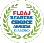 Logo of FLCAJ Readers' Choice Awards - Diamond